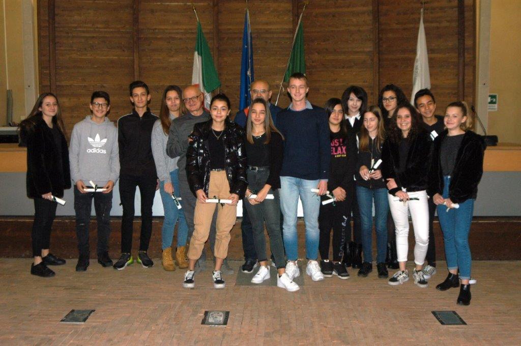 studenti premio merito scolastico Nerviano
