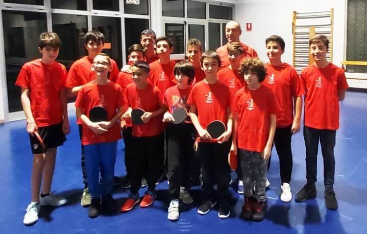 Tennistavolo Parabiago giovanile (3)