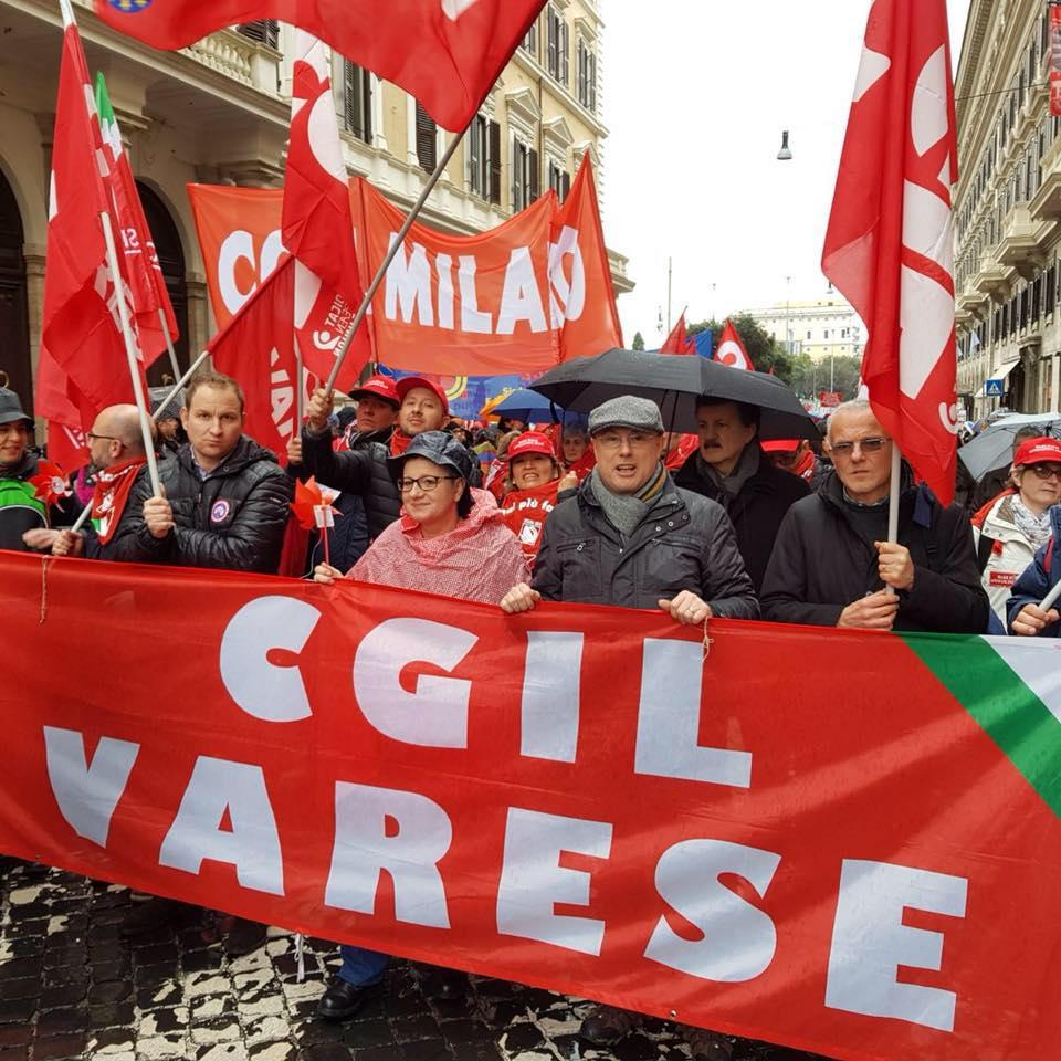 Cgil Varese, 50esimo anniversario Statuto dei Lavoratori. Il documentario