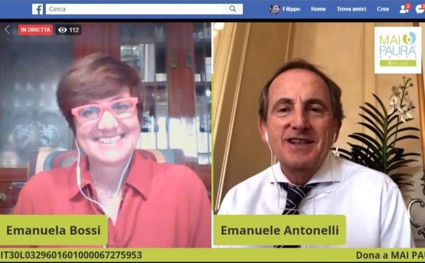 Giovedì mai Paura Emanuele Antonelli