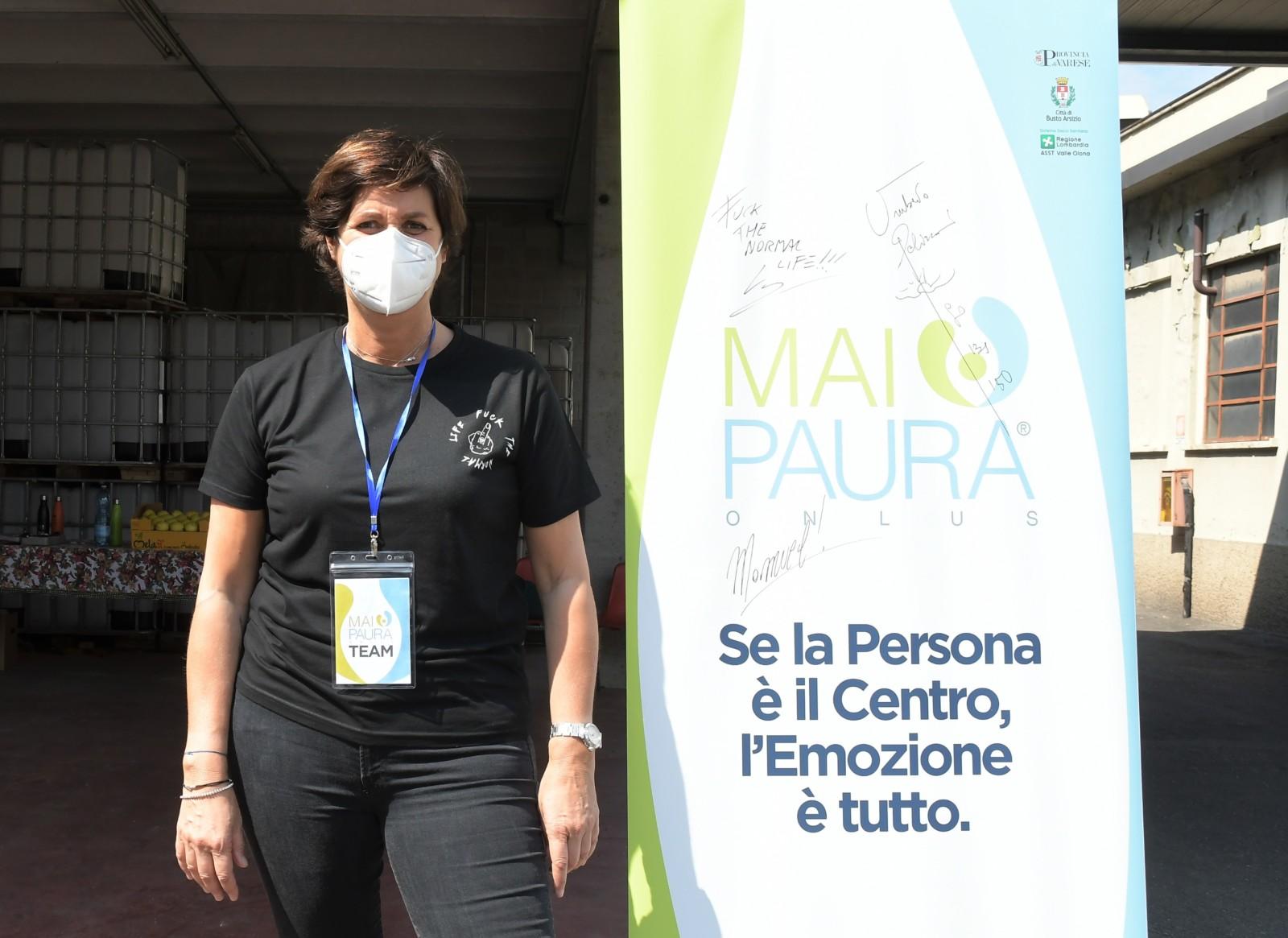 Italy,Mototerapia con Vanni Oddera per giovani disabili