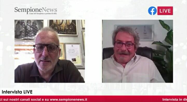 Enrico Barlocco I Legnanesi Un quarto d'ora con Sempione News (1)