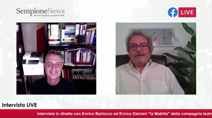 Enrico Dalceri I Legnanesi Un quarto d'ora con Sempione News (2)