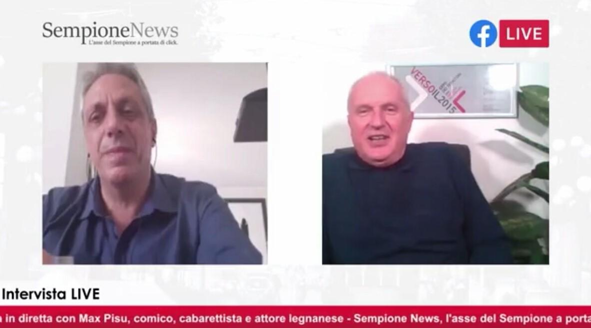 Max Pisu intervista Un quarto d'ora con Sempione News
