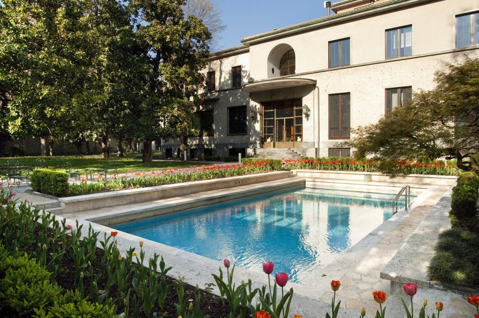 Villa Necchi Campiglio, Foto di Giorgio Majno, 2009 (C) FAI - Fondo Ambiente Italiano