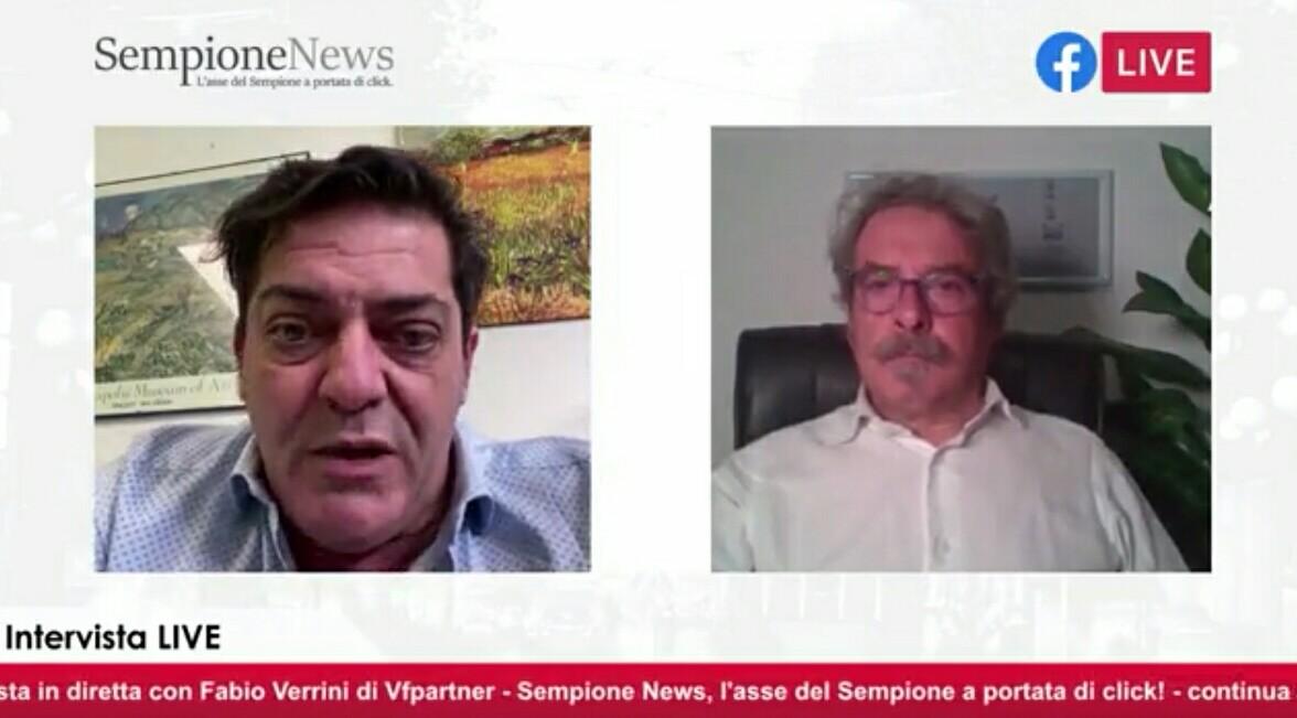 Fabio Verrini VfPartner Un quarto d'ora con Sempione News