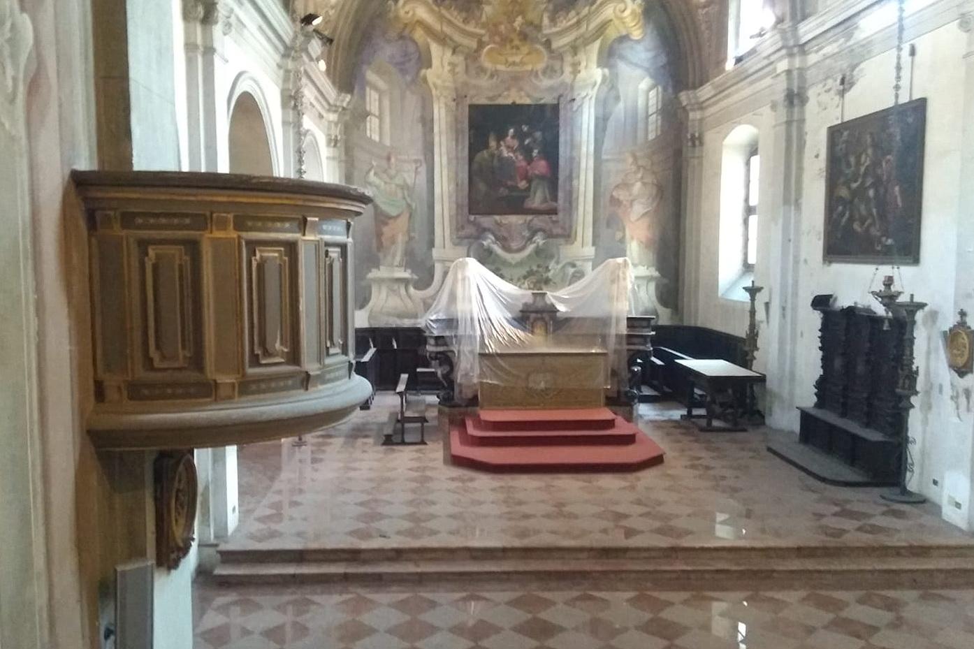 secondo ciclo restauro chiesa sant'ambrogio legnano 2