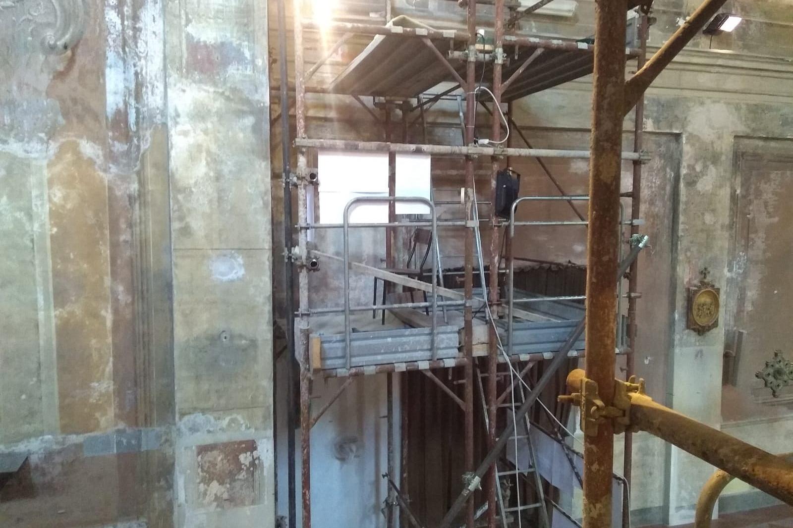 secondo ciclo restauro chiesa sant'ambrogio legnano 3