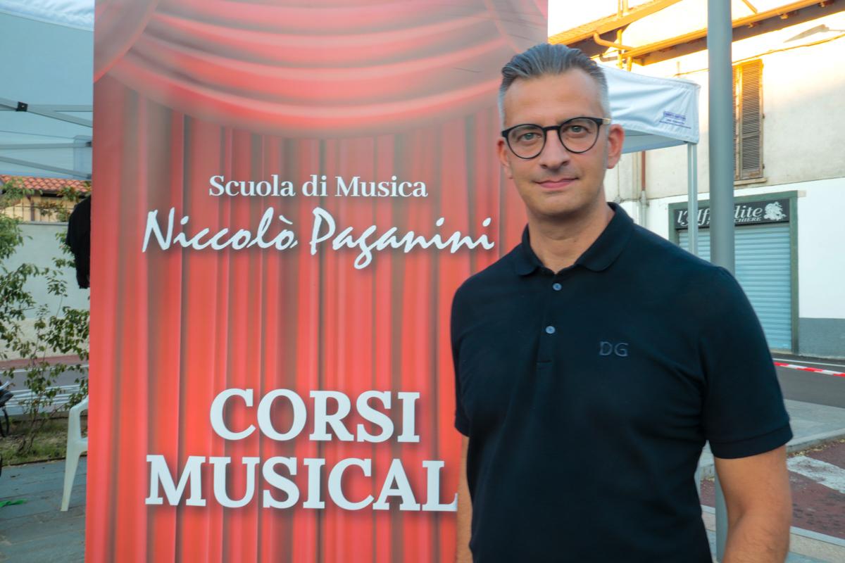 Fabio poretti scuola musicale Paganini