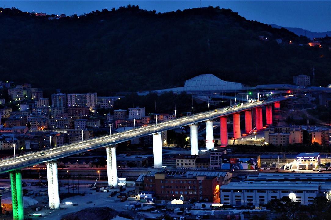 Genova Ponte San Giorgio