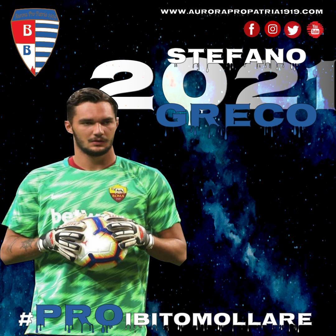 Stefano Greco in Biancoblu con la Pro Patria | Sempione News