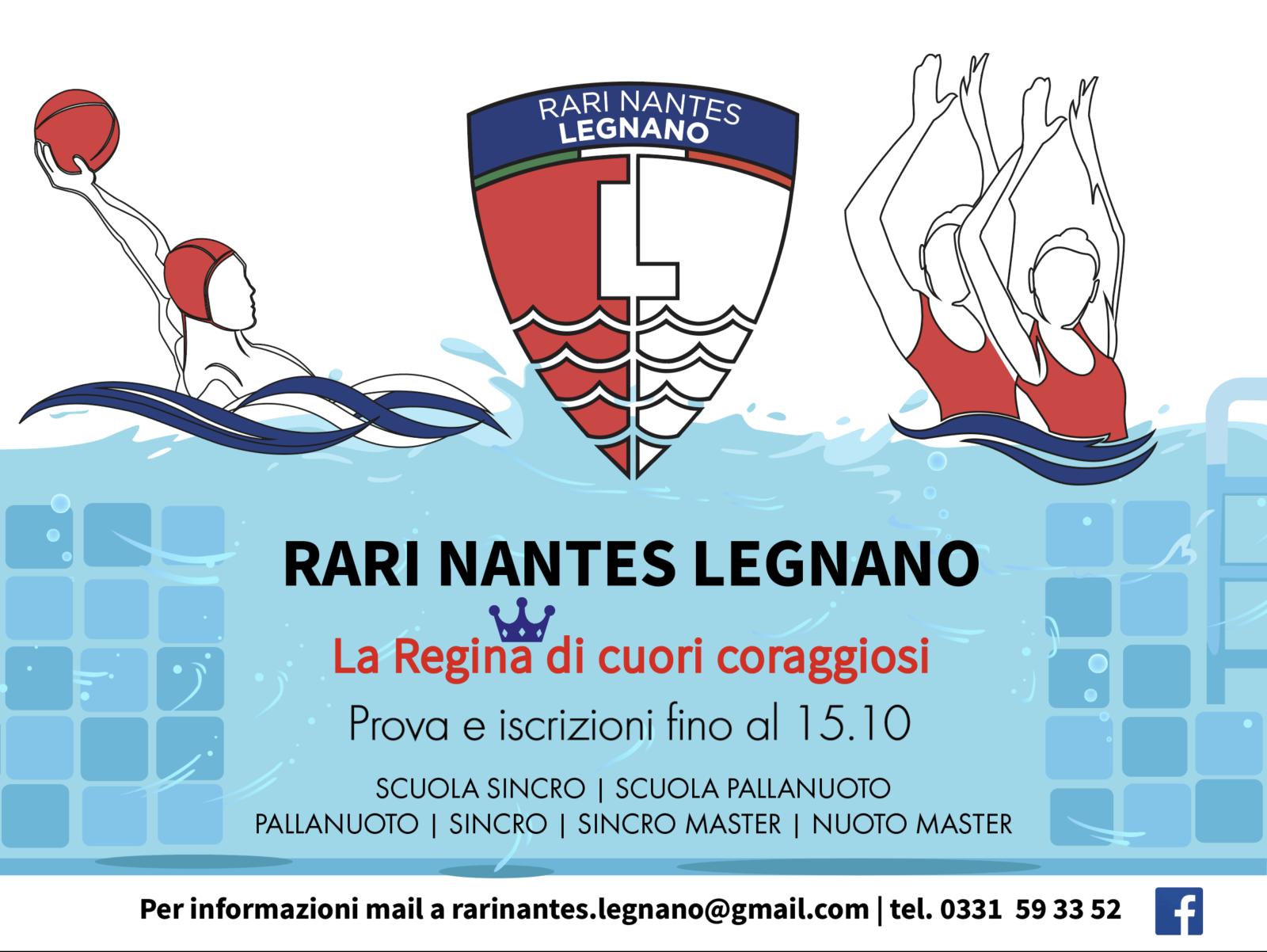 Rari Nantes Legnano POPUP 2020