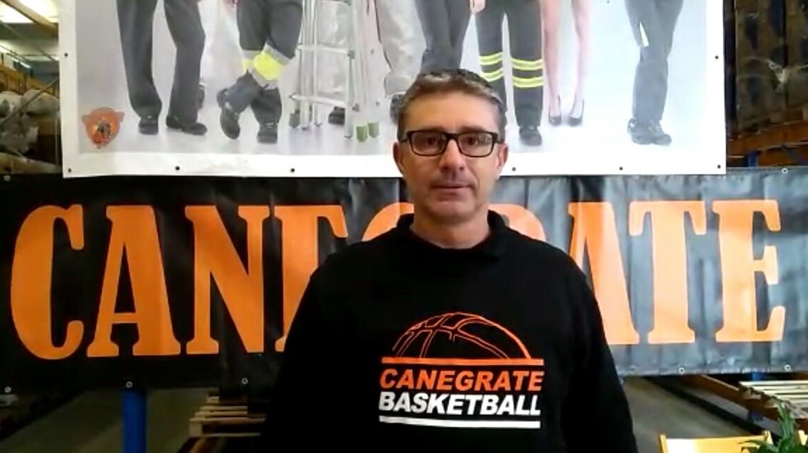 Paolo Caserini - Presentazione Basket Canegrate campionato Serie B 2020/2021