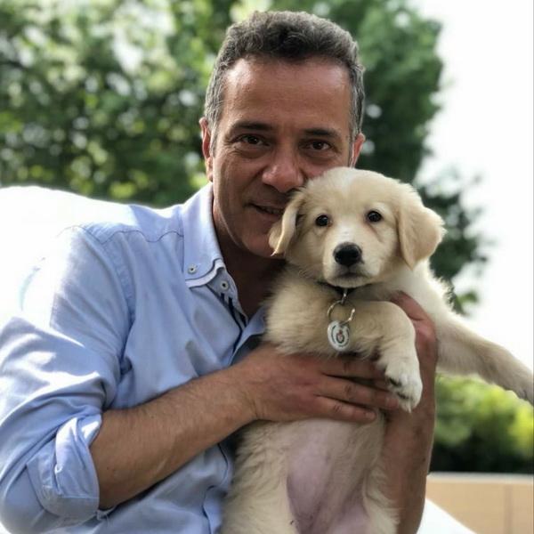 Alessandro albani con suo cane 03