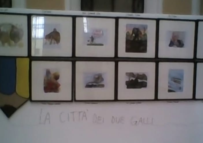 mostra un segno per tante storie palazzo borghi Gallarate Fabio Sironi (5)