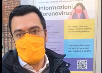 Lorenzo Radice- info - Covid-19- totem-Legnano
