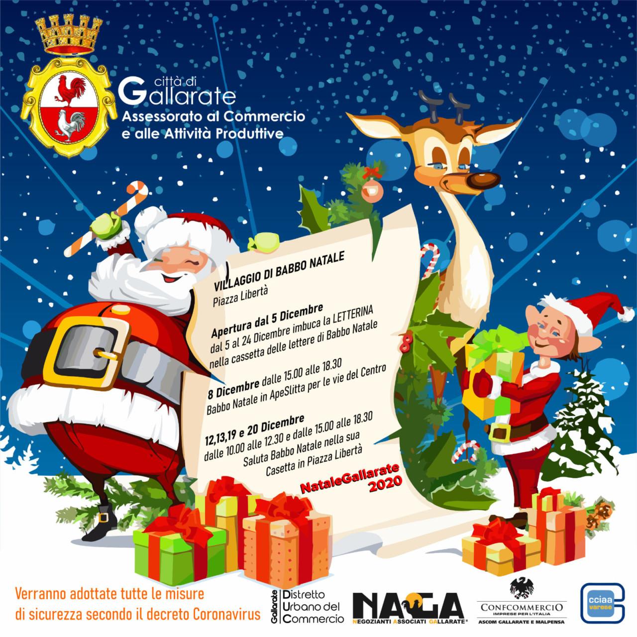 Villaggio Babbo Natale Gallarate(1)