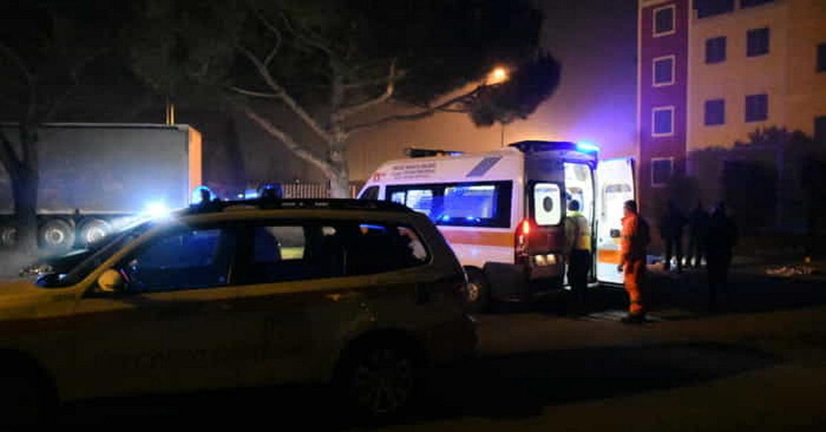 Ambulanza e 118 a Cuggiono copertina