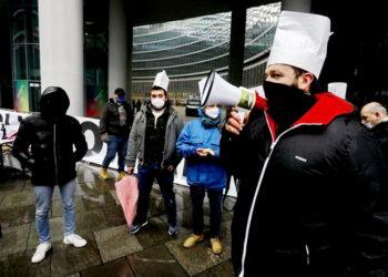 Protesta ristoratori brianzoli