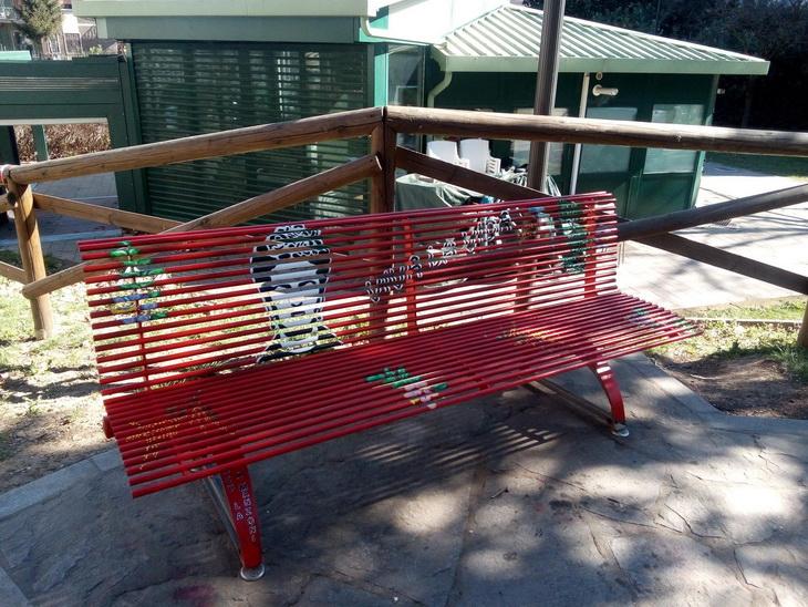 panchina rossa frida khalo rho