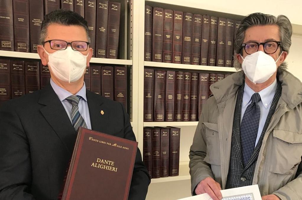 biblioteca Majno Gallarate mille libri per cento anni donazione