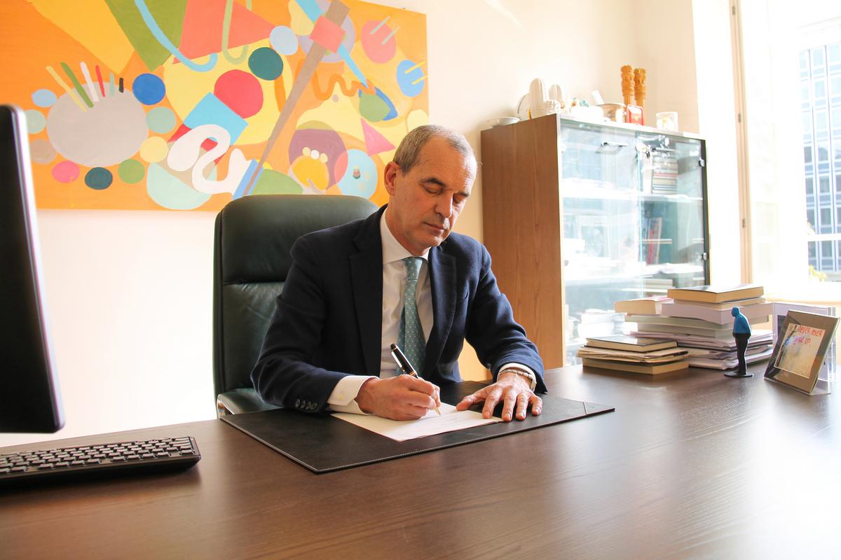 Federico Visconti, Rettore della LIUC
