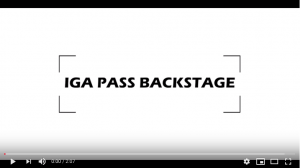 Iga Pass Backstage