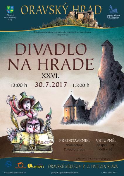 plagat 2017 divadlo na hrade