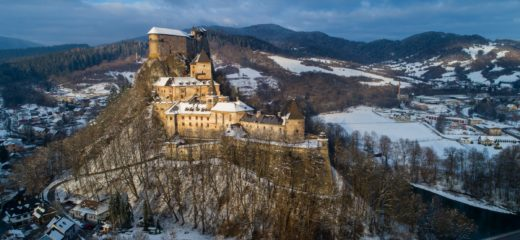 Oravský hrad – otváracie hodiny počas vianočných sviatkov