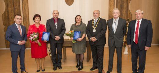 Ocenenie primátora mesta Dolný Kubín