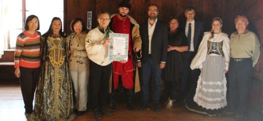 Zástupca Tajpejskej reprezentačnej kancelárie na Oravskom hrade