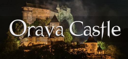 Video Oravský hrad na YouTube