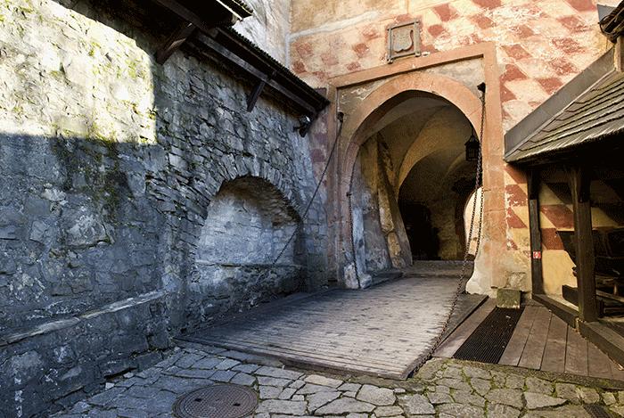 H radná brána oravského hradu, autor: M.Pišný
