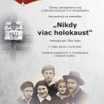 nikdy viac holokaust tibor spitz