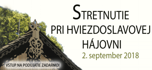 """XIV. ročník """"Stretnutia pri Hviezdoslavovej hájovni"""""""