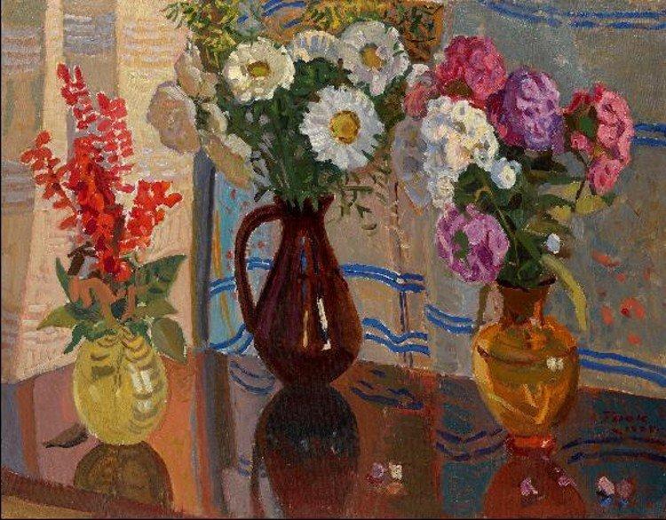 Інтер'єр з квітами