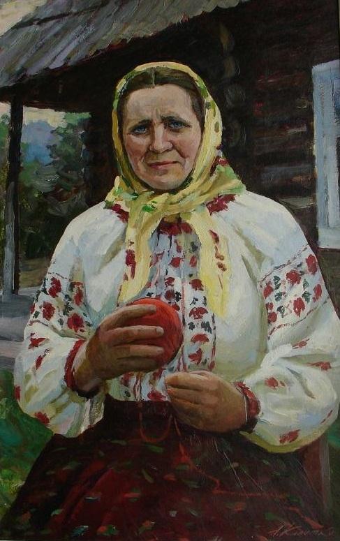 Народний майстер Ганна Василащук