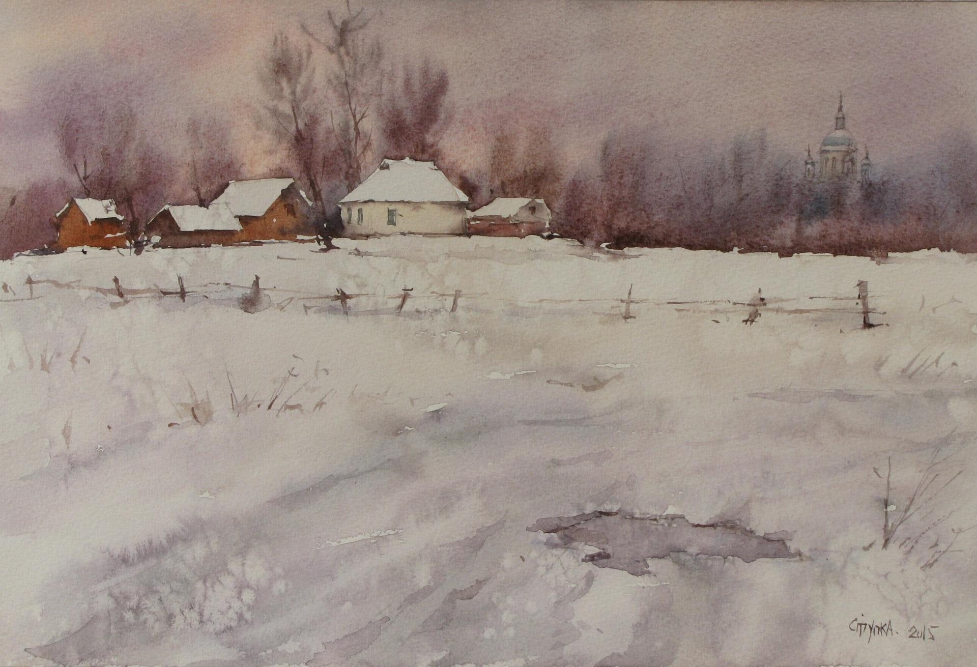 Первый снег(В.Сорочинцы)
