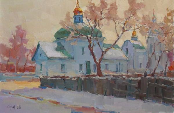 Спасская церковь.Полтава