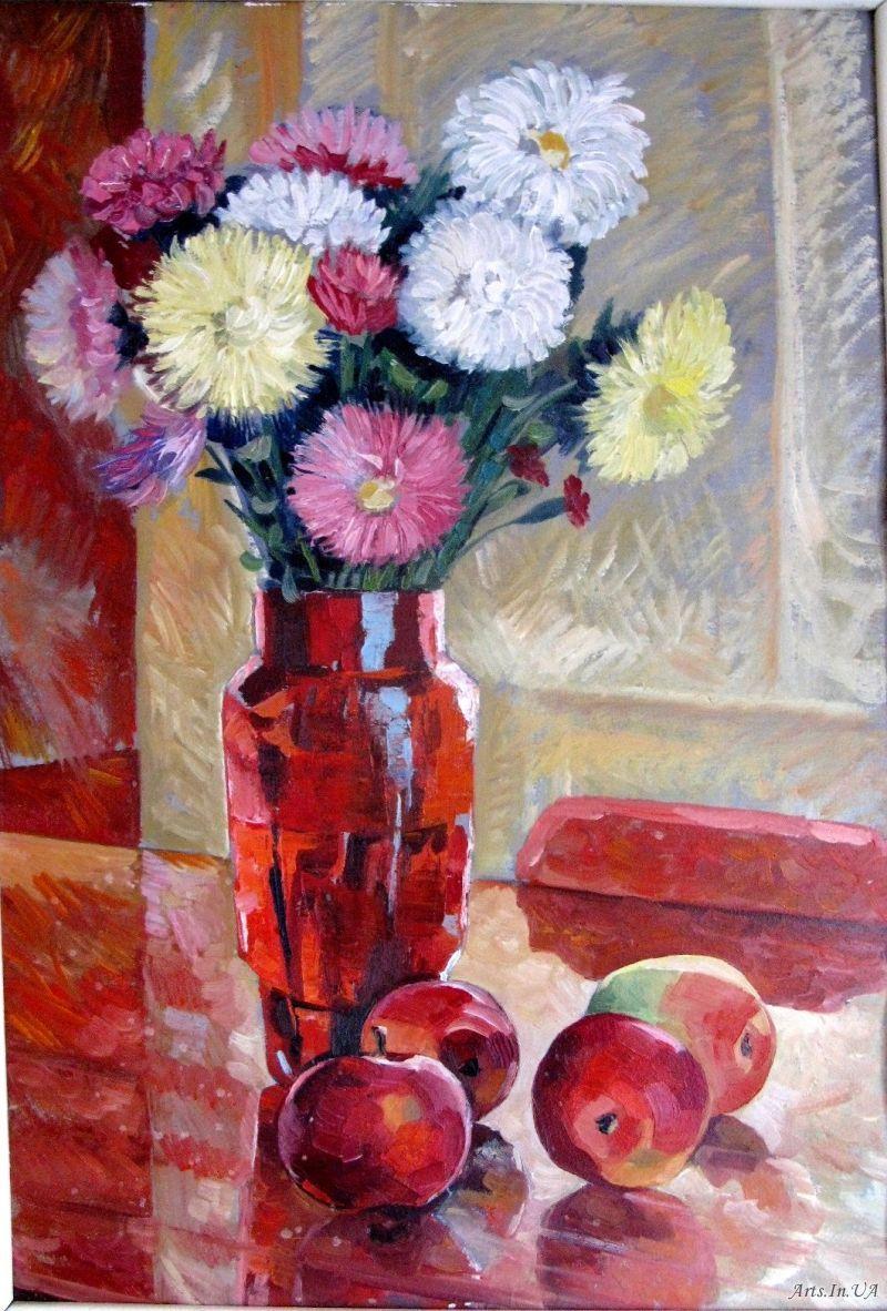 червона ваза