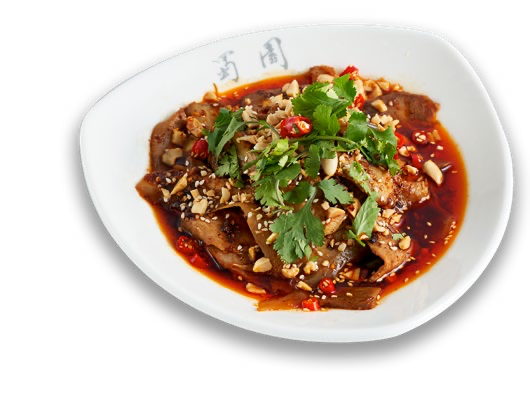 Sliced Beef and Ox Tongue in Chili sauce