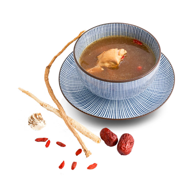 Soup of Chicken and Chinese Herbs
