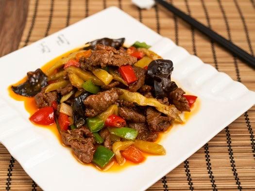 青椒豆豉牛柳🌶  Braised Beef fillet in Black Bean Sauce braised