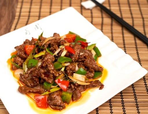 Sautéed Beef fillets with Pickled pepper