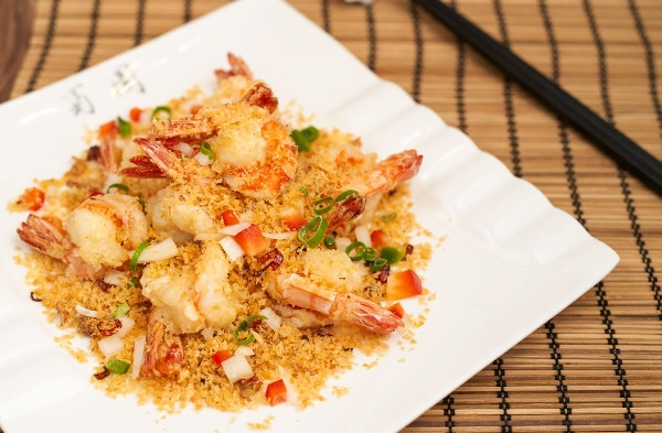 Crispy Sautéed Shrimp with pepper salt