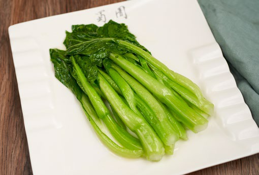Stir-fried Shanghai Pakchoi