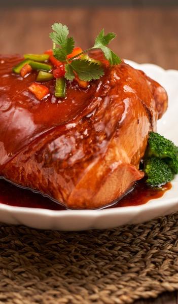 风味东坡肘  Braised Pork shank Dongpo style