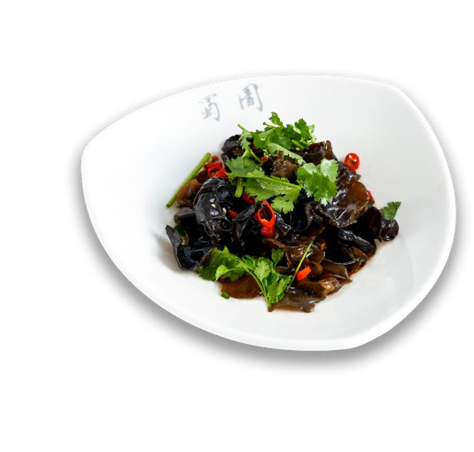 Black Fungus in Cold sauce