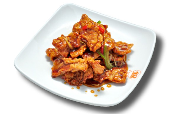 Sauteed sweet and sour pork Tenderloin 锅包肉
