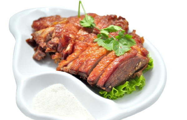 Two-Colored Crispy Duck Big 香酥鸭(大)